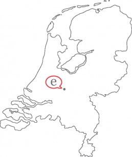 Kaart Effectief Communicatie Nederland
